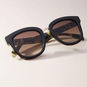 Black Gabriela Cat-Eye Sunglasses
